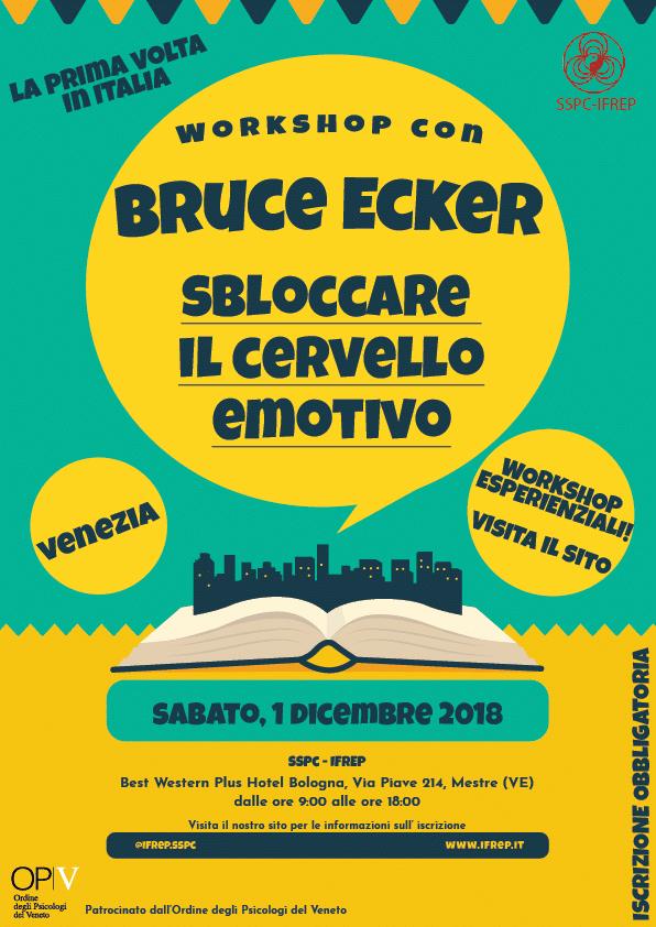 Workshop esperienziale con Bruce Ecker – Venezia
