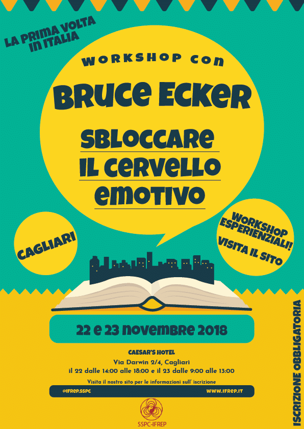 Workshop esperienziale con Bruce Ecker – Cagliari
