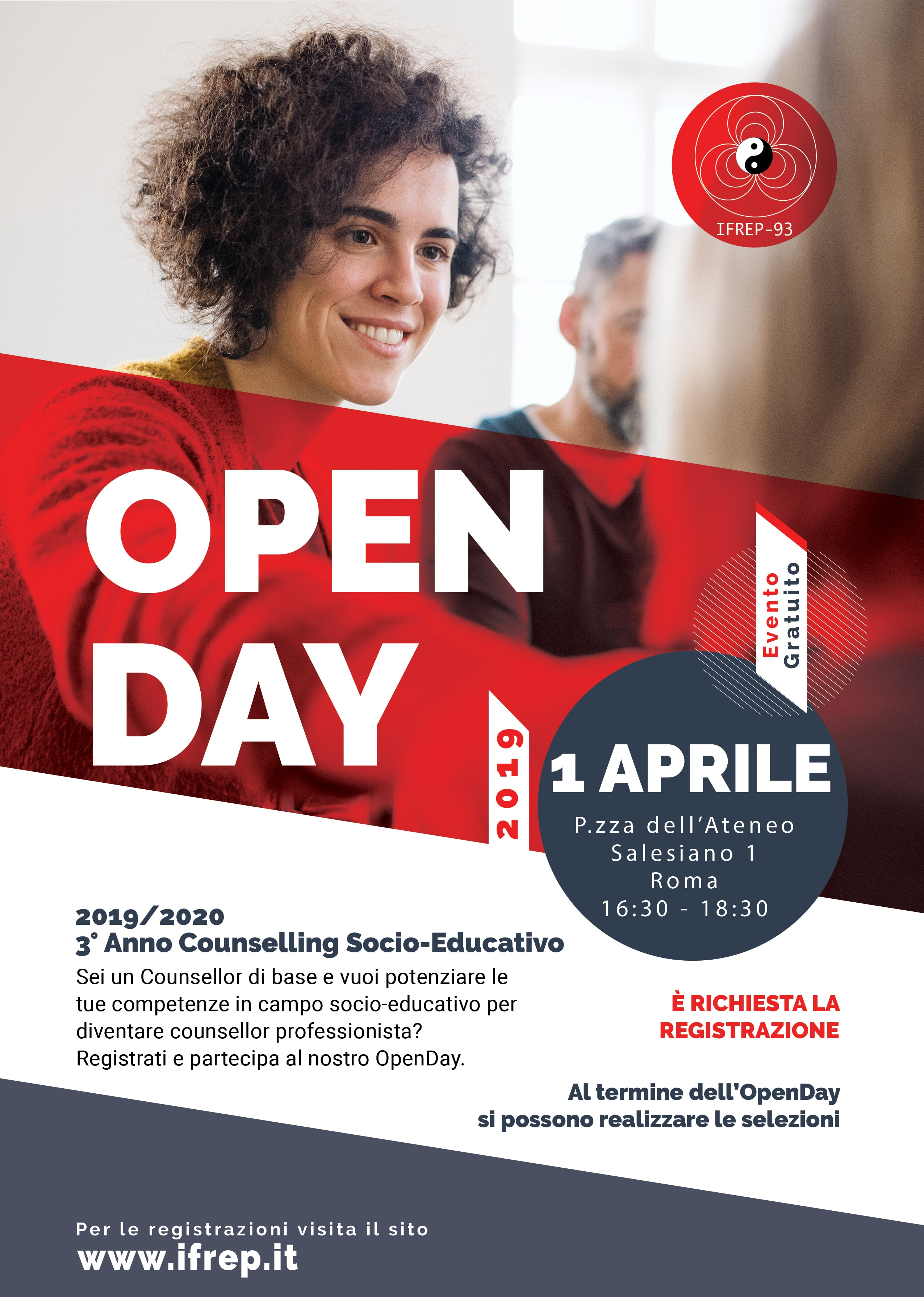 1° Aprile 2019 Open Day