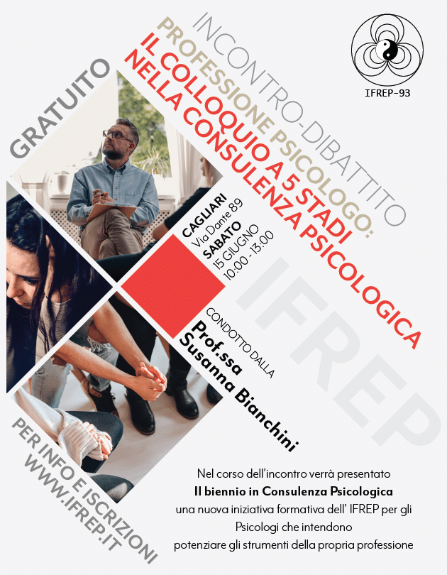 Cagliari – Professione psicologo: Il colloquio a 5 stadi nella consulenza psicologica