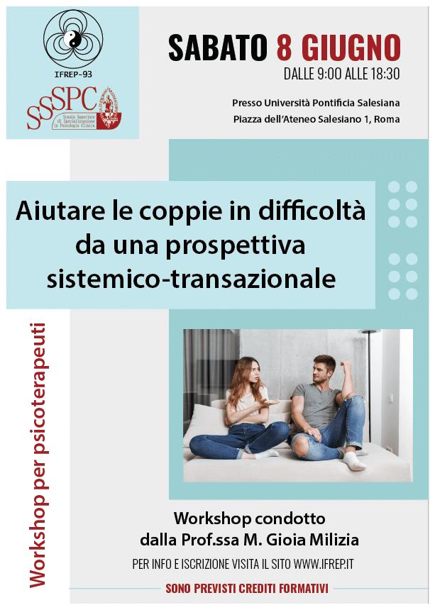 Roma – Workshop per psicoterapeuti
