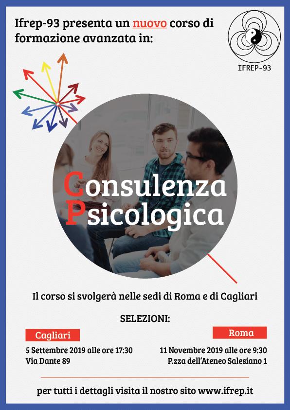 Cagliari, 5 Settembre – Selezioni Corso Consulenza Psicologica