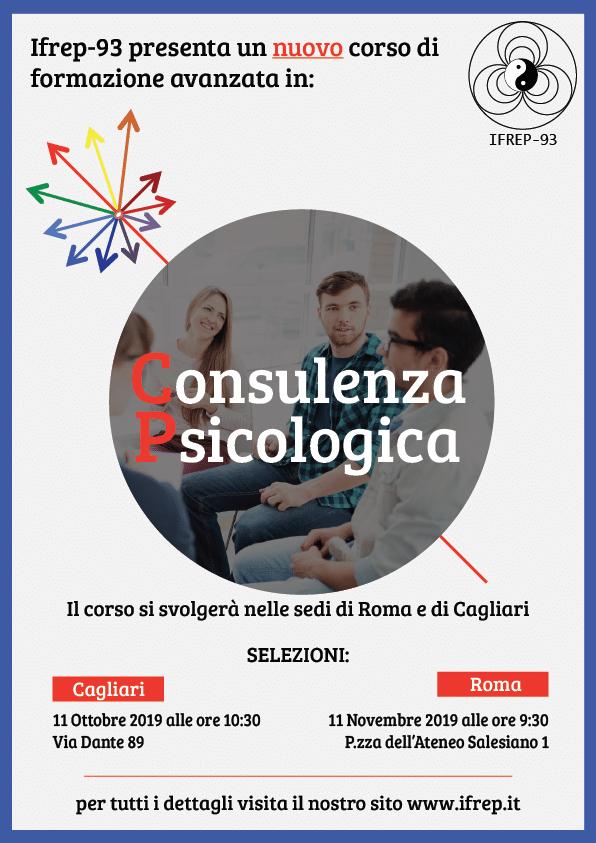 Cagliari, 11 Ottobre – Selezioni Corso Consulenza Psicologica