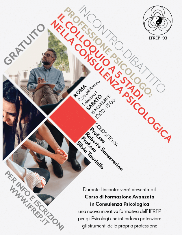 Roma, 16 Novembre – Professione psicologo