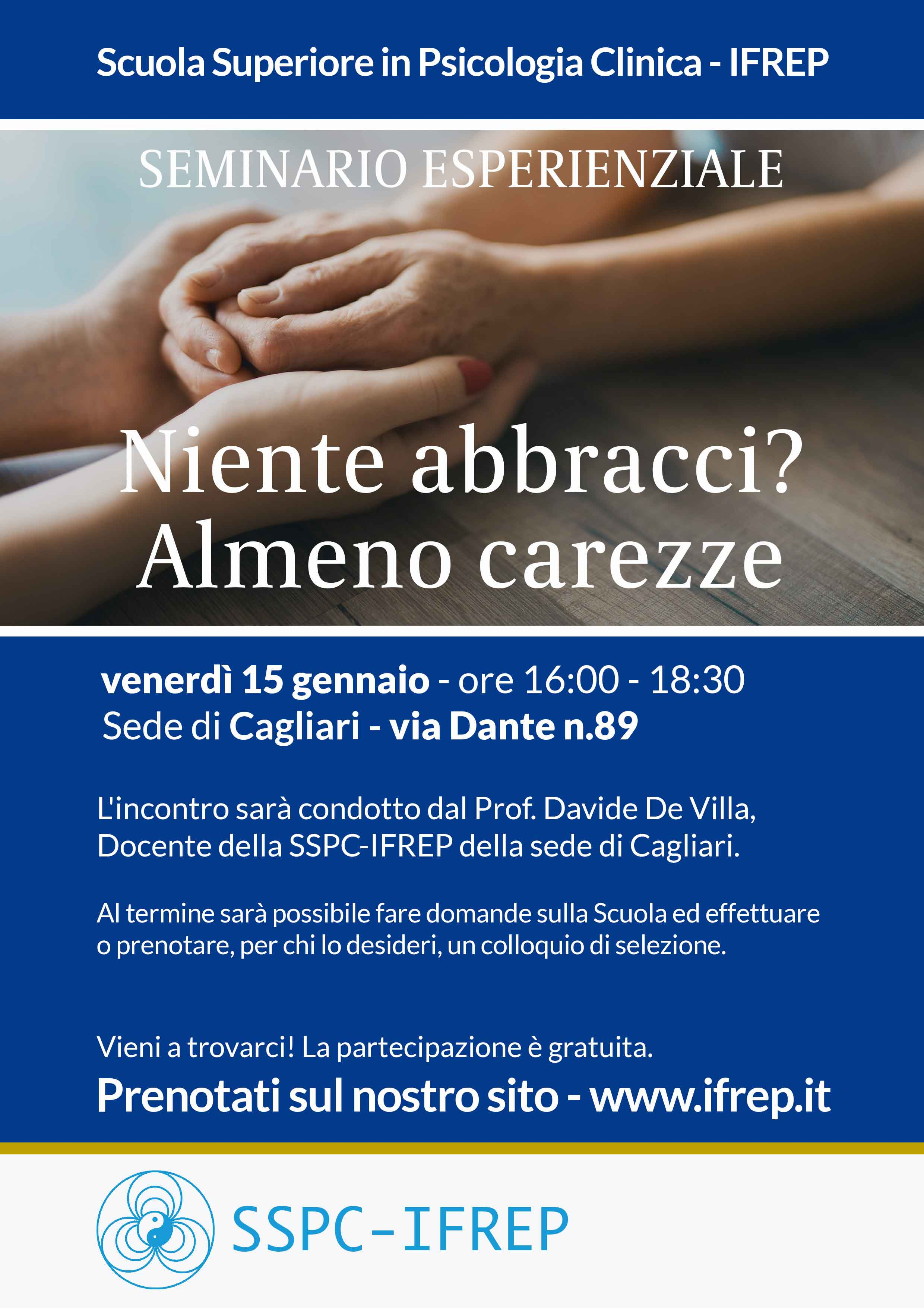 Carezze Cagliari 15 Gennaio 2021