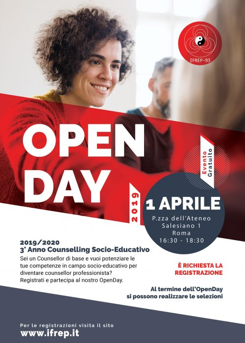 OpenDay 3°Anno Counselling